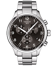 Tissot Men's Swiss Chronograph Chrono XL Classic T-Sport Stainless Steel Bracelet Watch 45mm
