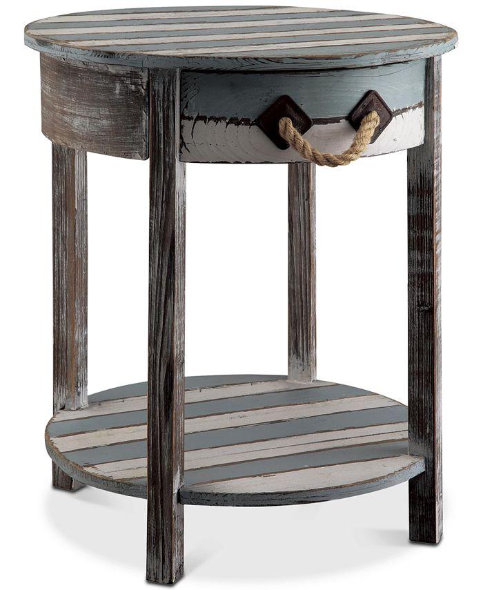 Furniture - Nantucket 1-Drawer Table, Quick Ship