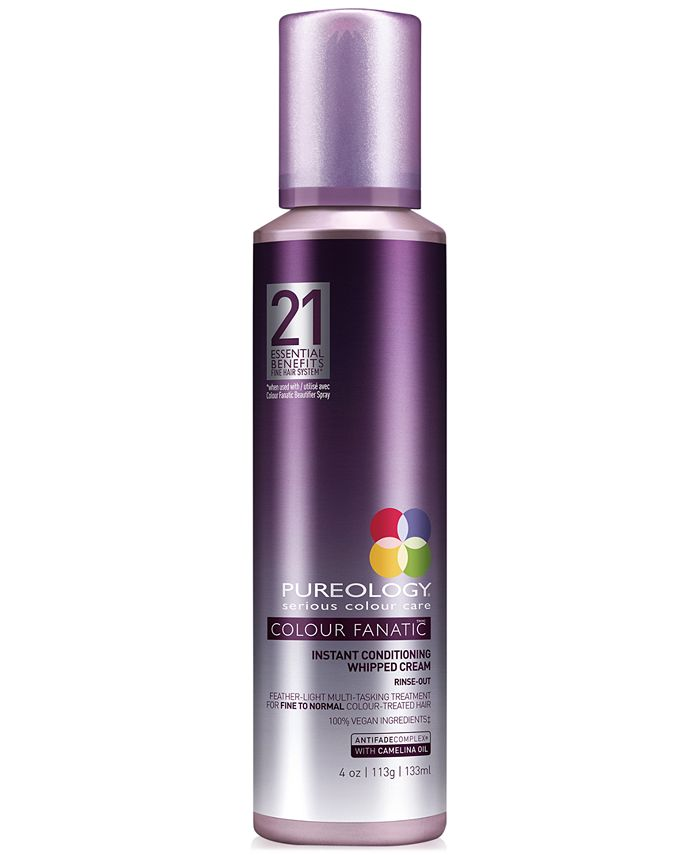 Pureology - Colour Fanatic Instant Conditioning Whipped Cream, 4-oz.