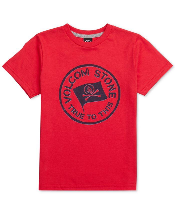 Volcom - Graphic-Print Cotton T-Shirt, Little Boys (2-7)