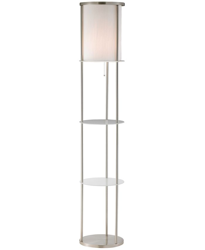 Adesso - Holden Shelf Floor Lamp