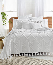 CLOSEOUT! Lucky Brand Diamond Tufted Bed Cover, Created for Macy's