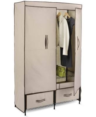 "Honey Can Do Double Door Storage Closet, 43"" Wide"