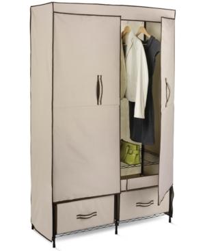 """Honey Can Do Double Door Storage Closet, 43"""" Wide"""
