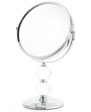 Upper Canada Soap Mirrors, Double Crystal Ball Mirror 10x