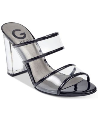 g by guess black heels