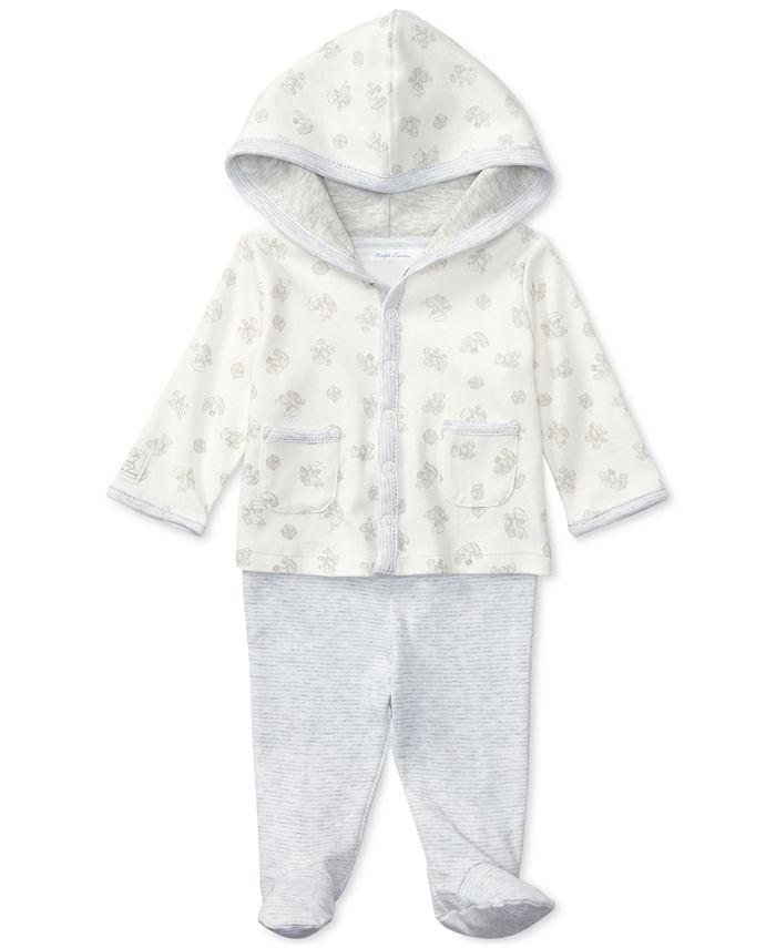 Polo Ralph Lauren - Cotton Hoodie & Pants Set, Baby Boys & Girls