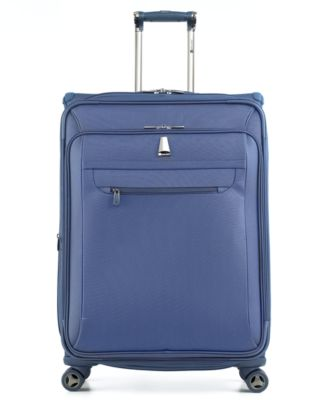 """CLOSEOUT! Delsey X'Pert Lite 21"""" Carry On Expandable Spinner Suitcase"""
