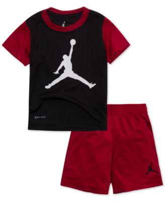 Jordan 2-Pc. Jumpman T-Shirt \u0026 Shorts