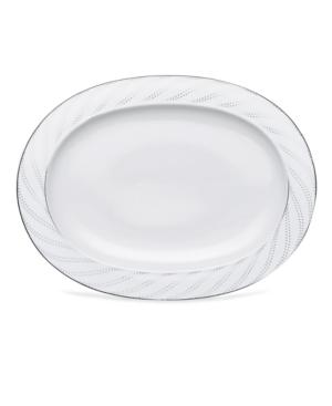 Noritake Dinnerware, Platinum Waltz Oval Platter