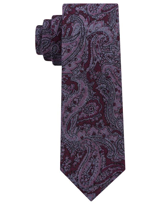 Michael Kors - Men's Statement Paisley Slim Tie