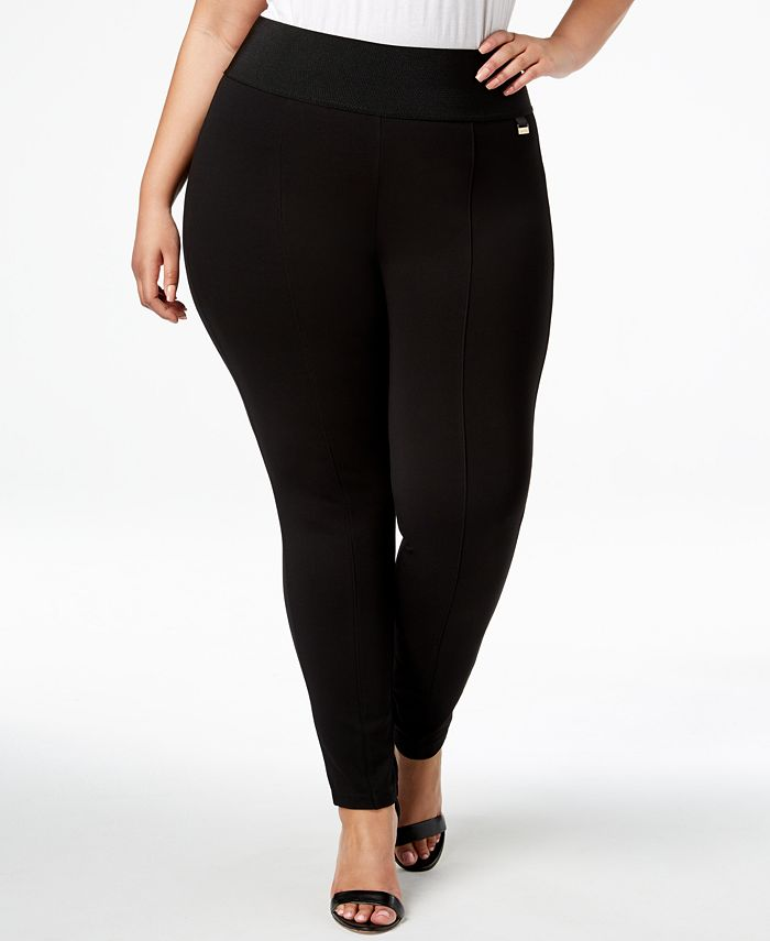 Calvin Klein - Plus Size Pull-On Skinny Compression Pants