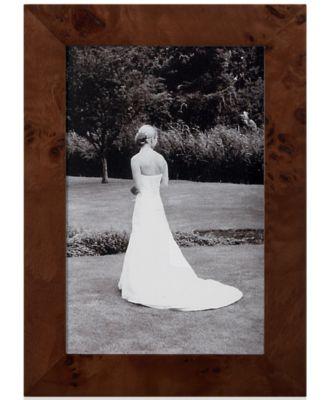 "Siena by Tizo Picture Frame, Burlwood 5"" x 7"""