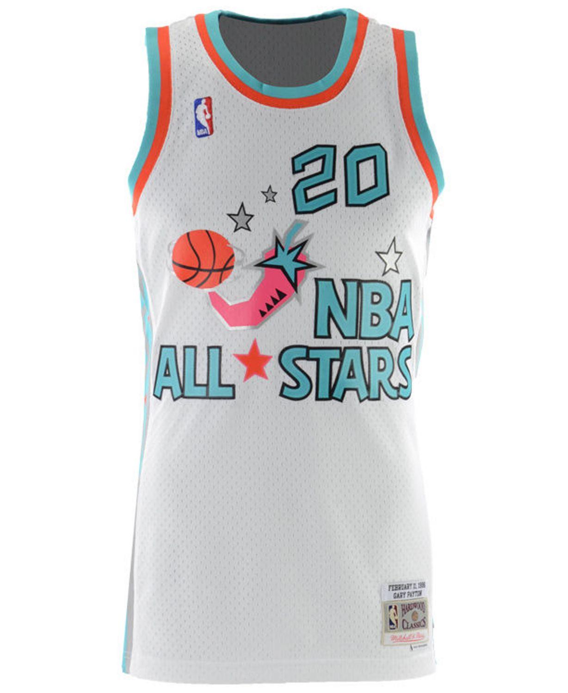 Mitchell & Ness Men's Gary Payton NBA All Star 1996 Swingman Jersey & Reviews - Sports Fan Shop By Lids - Men - Macy's