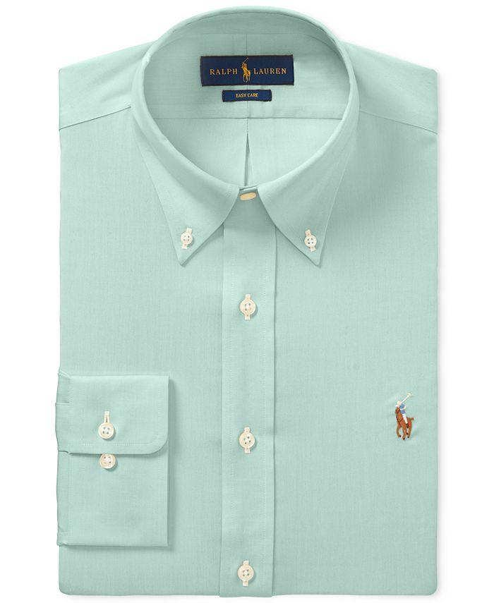 Polo Ralph Lauren Men's Classic-Fit Dress Shirt & Reviews - Dress ...