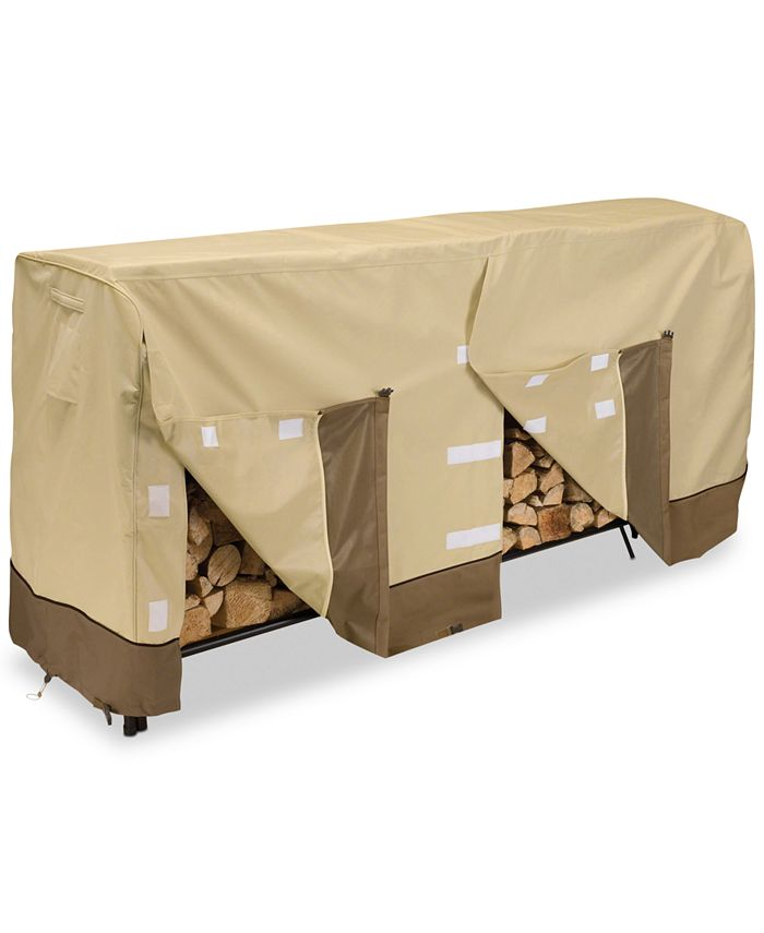 Classic Accessories - 8' Log Rack Cover, Quick Ship