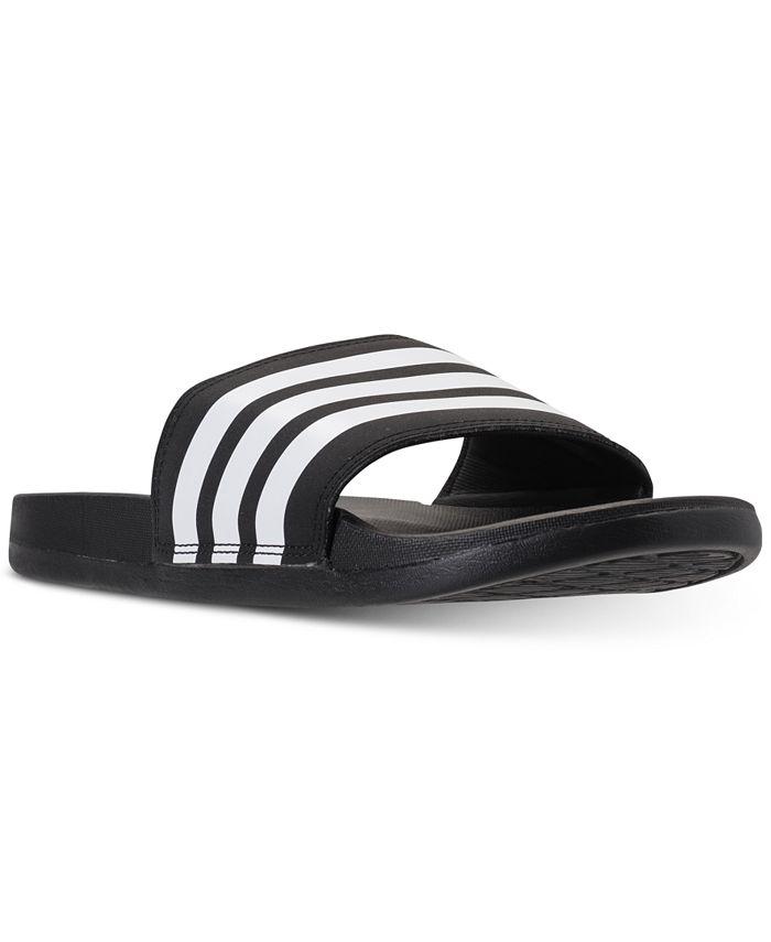 adidas - Women's adilette Cloudfoam Plus Slide Sandals from Finish Line