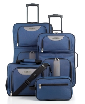travel select journey 4 piece luggage set