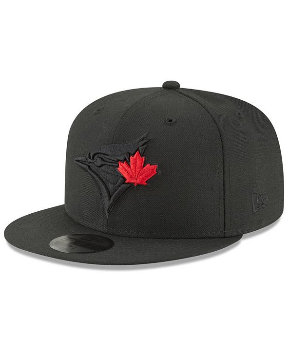 New Era Toronto Blue Jays Blackout 59FIFTY FITTED Cap