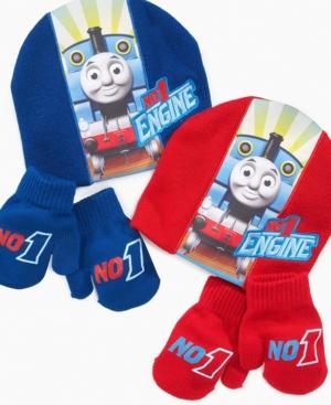 ABG Accessories Kids Hat and Mitten Set, Little BoyThomas Set