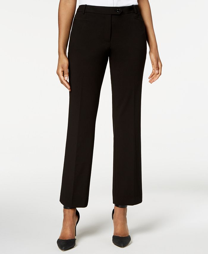 Calvin Klein - Pants, Modern Tab-Front Trousers