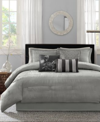 Hampton 7-Pc. Queen Comforter Set