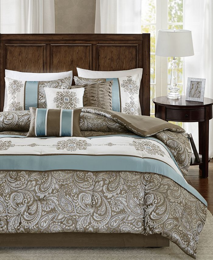 Madison Park - Caroline King 7-Pc. Comforter Set
