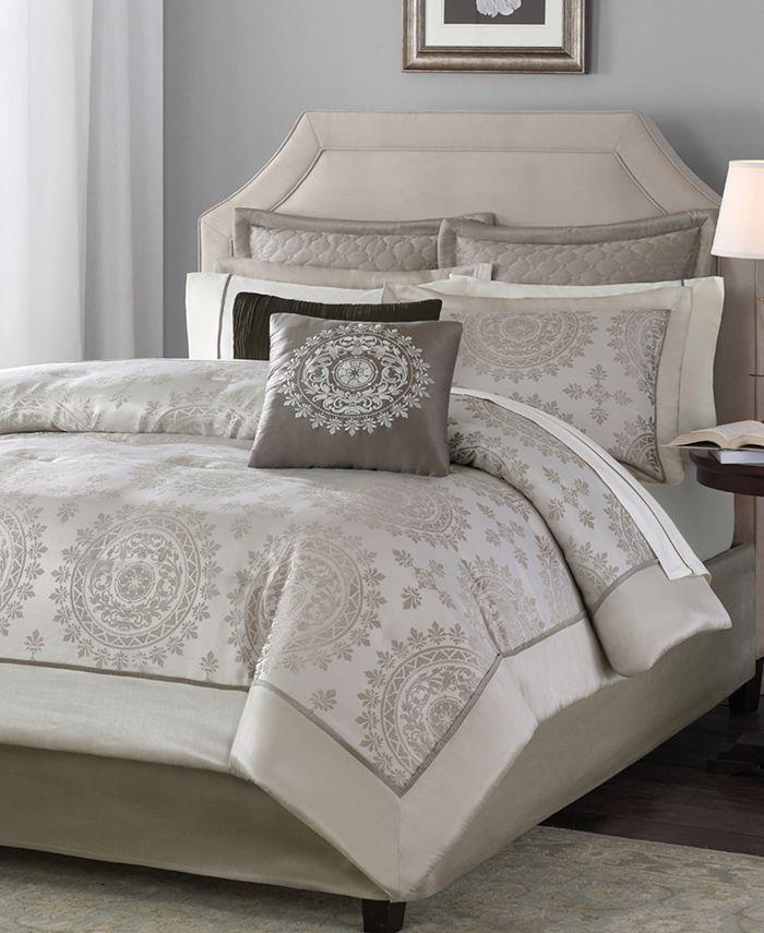 Madison Park - Tiburon 12-Pc. King Comforter Set