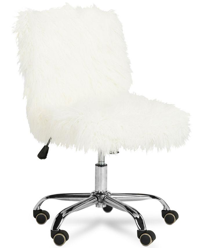 Safavieh - Hanae Office Chair, Quick Ship