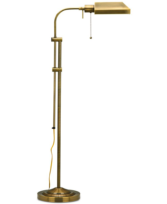 Cal Lighting - Pharmacy Floor Lamp with Adjustable Pole
