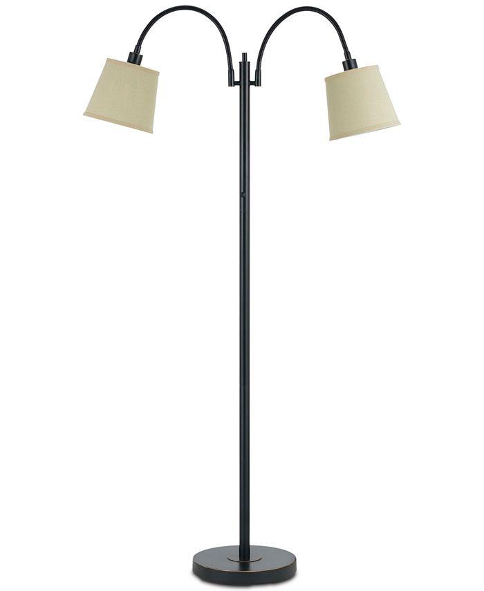 Cal Lighting - 40W Gail Metal Lamp with Gooseneck