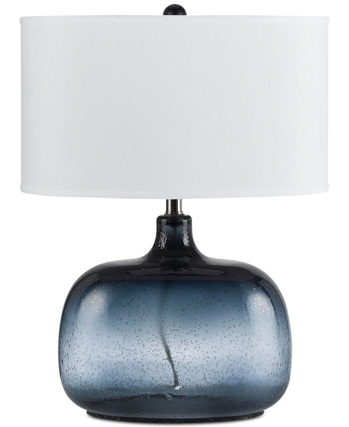 Cal Lighting - 150W 3-Way Christi Glass Table Lamp