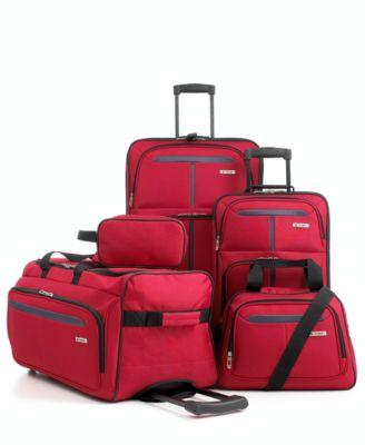 macys deals on Tag Fairfield III 5-pc. Luggage Set