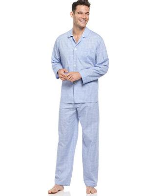Club Room Men S Shirt And Pants Pajama Set Pajamas