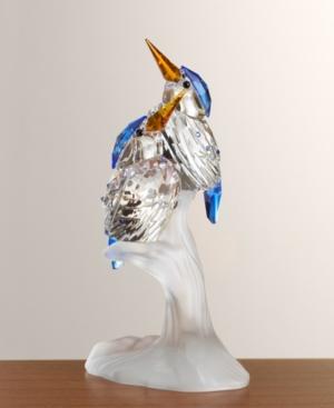"""Swarovski """"Feathered Friends"""" Malachite Kingfishers"""