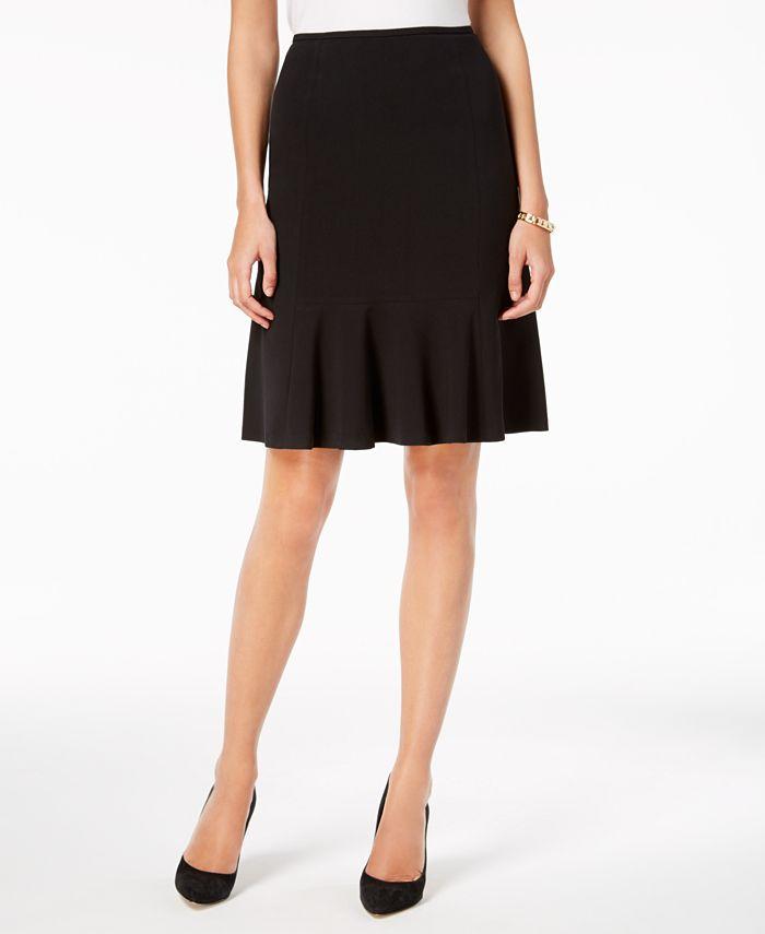 Nine West - Flare-Hem Pencil Skirt