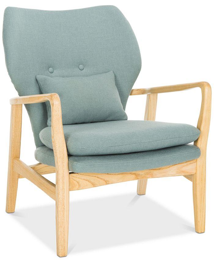 Safavieh - Acari Accent Chair, Quick Ship