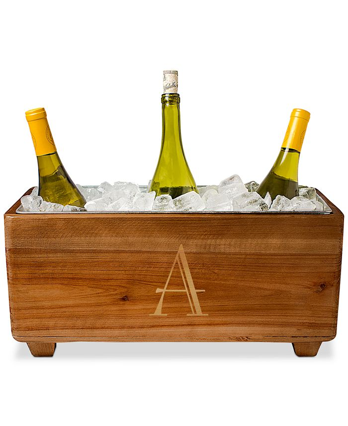 Cathy's Concepts - Personalized Wooden Wine Trough