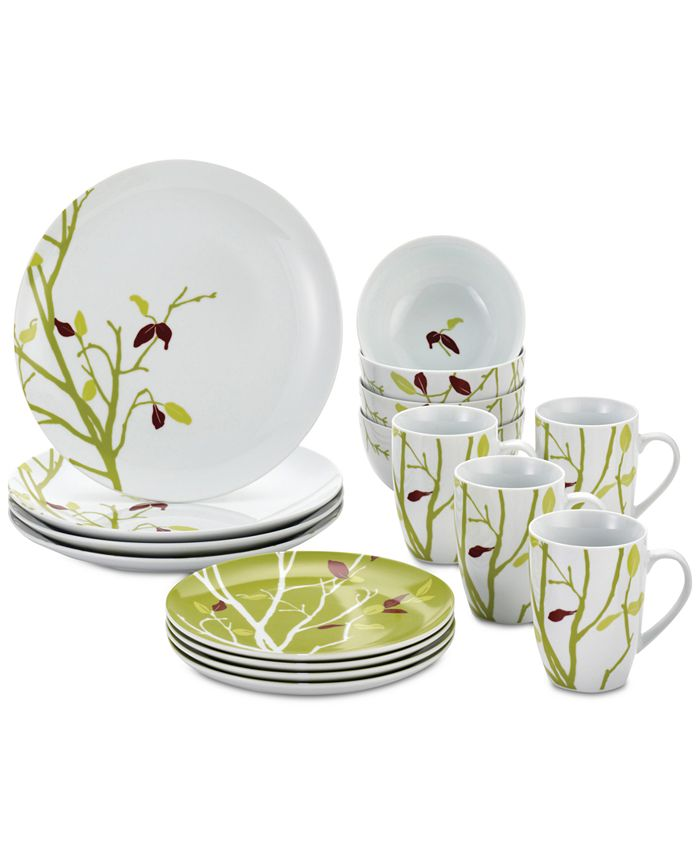 Rachael Ray - Seasons Changing 16-Pc. Dinnerware Set, Service for 4