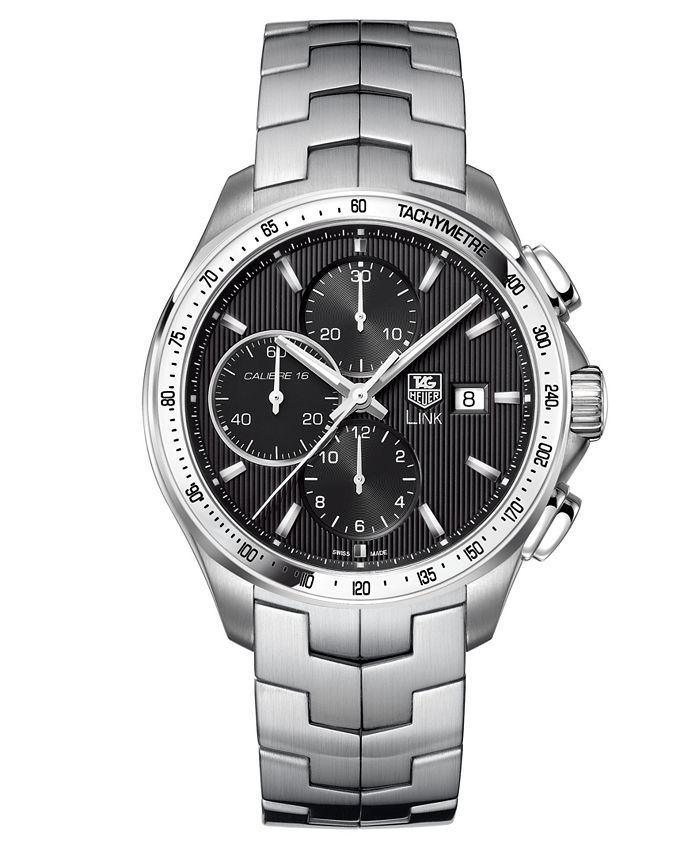 TAG Heuer - Men's Automatic Chronograph Stainless Steel Bracelet Watch 43mm CAT2010.BA0952