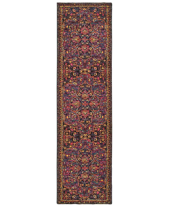 "JHB Design CLOSEOUT! Archive Meadow 2' 7"" x 10' 0"" Runner Rug"
