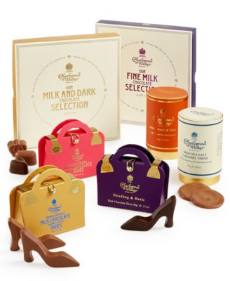 Gold Handbag & Sea Salt Caramel Chocolate Shoes