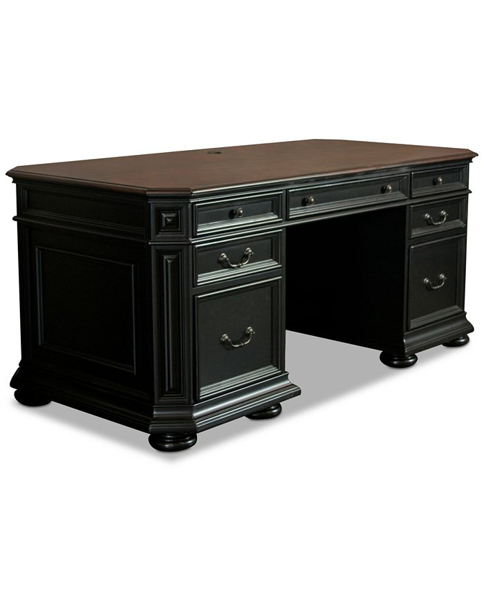 Furniture - Beekman Home Office Executive Desk