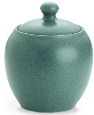 Noritake Dinnerware, Colorwave Turquoise Covered Sugar Bowl