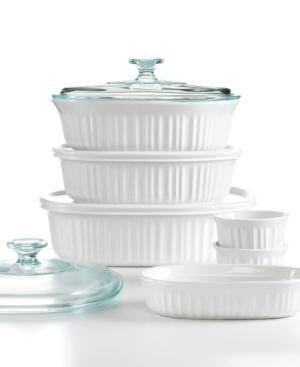 Corningware Bakeware, French White 10 Piece Set