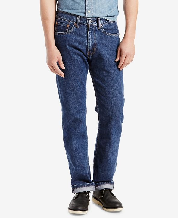 Levi's Men's 505 Regular-Fit Non-Stretch Jeans