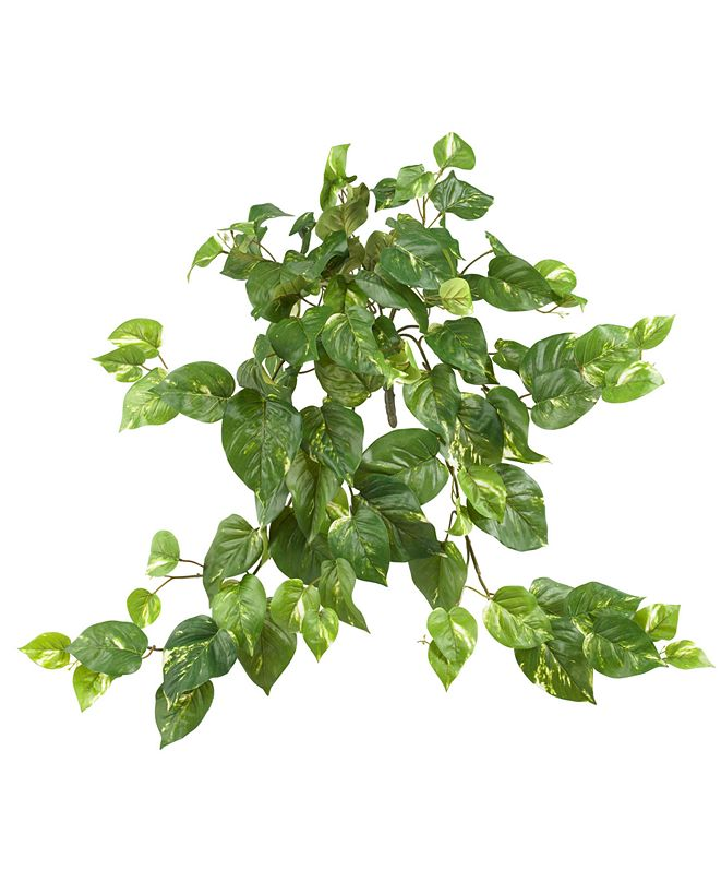 "Nearly Natural 3-Pc. 30"" Pothos Artificial Hanging Bush Set"