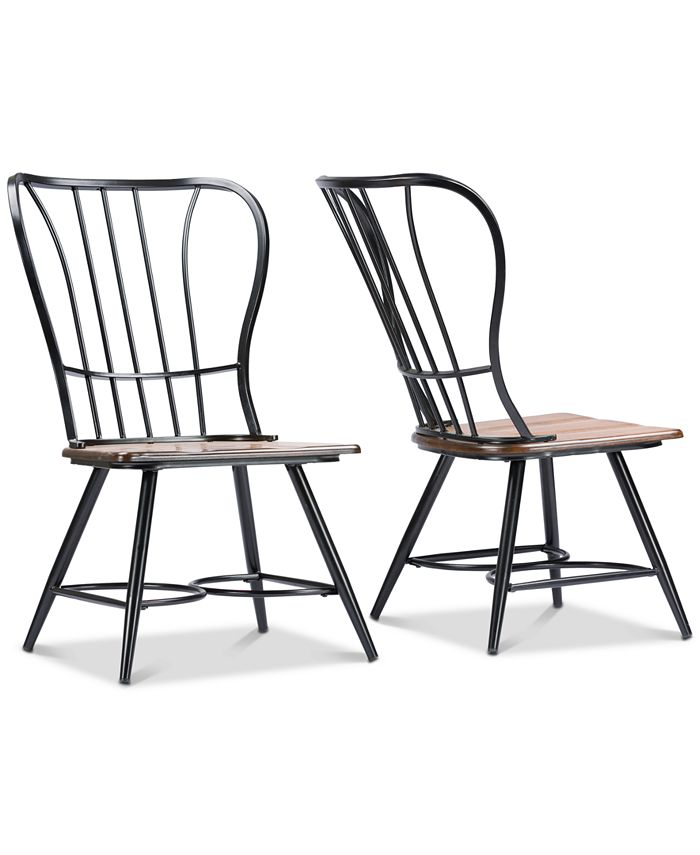 Furniture - Tauria Dining Chair (Set of 2), Quick Ship