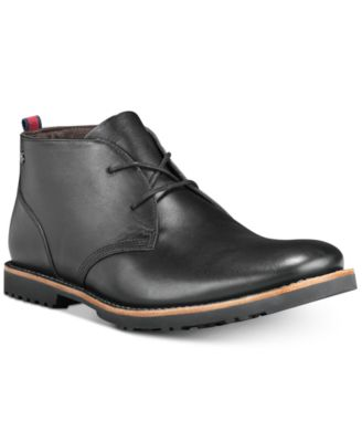 Richdale Leather Chukka Boots, Created