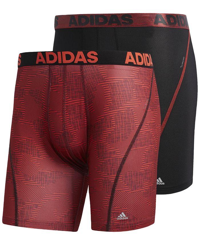 adidas Men's 2-Pk. ClimaCool® Graphic Boxer Briefs & Reviews ...